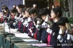 【駒込ツリー点火祭】聖学院小学校児童によるハンドベル演奏