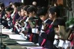 【駒込ツリー点火祭】小学校児童によるハンドベル演奏