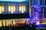 【聖学院中高】点燈祭では父兄による聖歌隊コーラスも披露されました